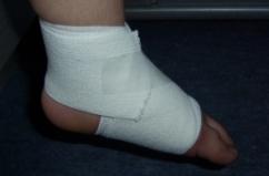 Zukunft-Huber-Bandage-links